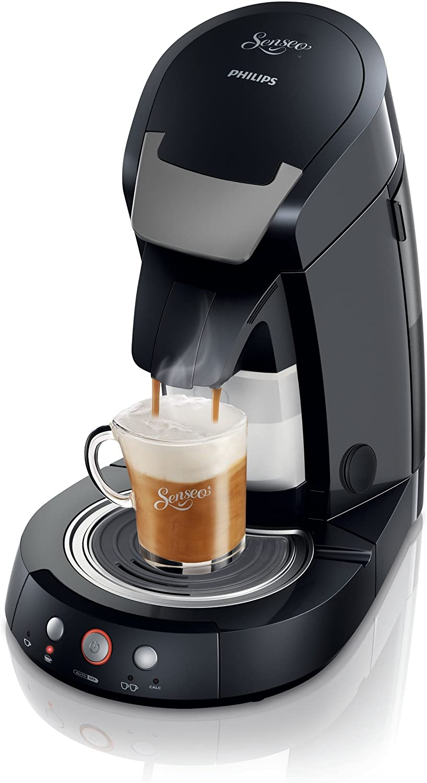 Philips Senseo Cappuccino Select - Cafetera monodosis, color negro: Amazon.es: Hogar