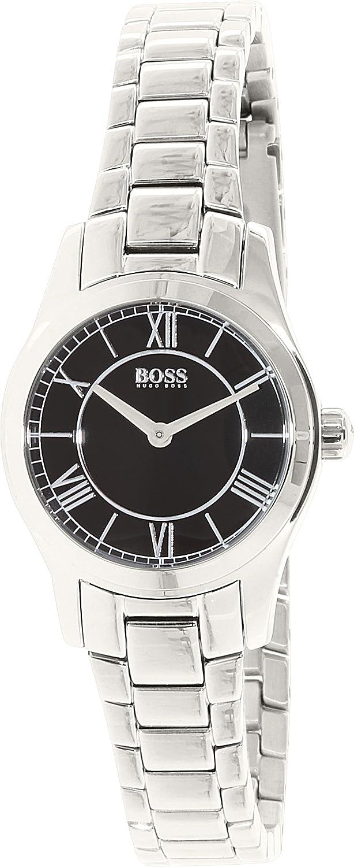 157f1ffc4d1d Amazon.com  Hugo Boss Women s Ambassador 1502376 Silver Stainless-Steel  Quartz Watch  Hugo Boss  Watches