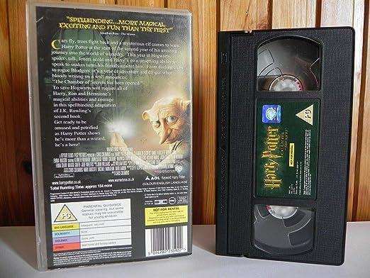 Harry Potter & The Chamber Of Secrets Reino Unido VHS: Amazon ...
