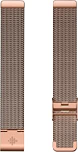 Fitbit Inspire HR & Inspire Accessory Band, Stainless Steel Mesh, Official Fitbit Product, Rose Gold, One Size