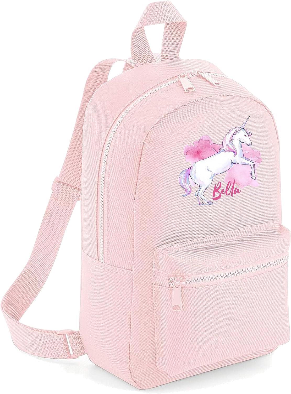 Personalised Name Backpack /& Lunch Bag Printed Customised Rucksack Kids School