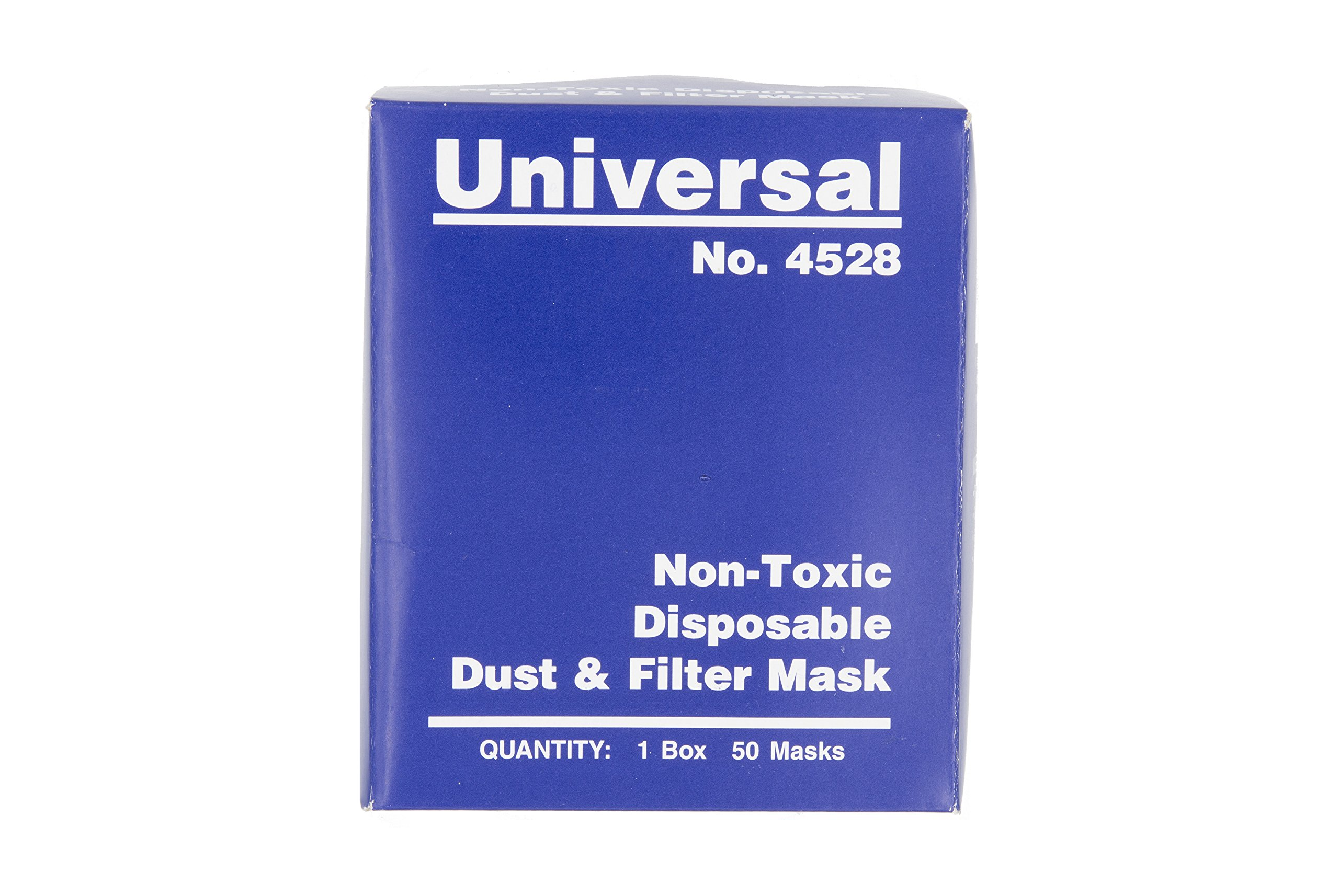 Universal 4528 Non-Toxic Disposable Dust & Filter Safety Masks 4