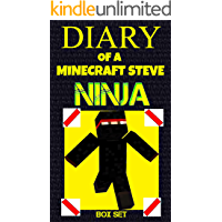 Diary of a Minecraft Steve Ninja (Box Set)