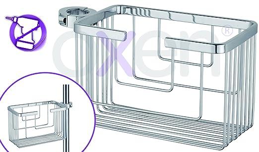 11 opinioni per oxen® Montero–Portasapone per cestino da doccia e vasca senza fori