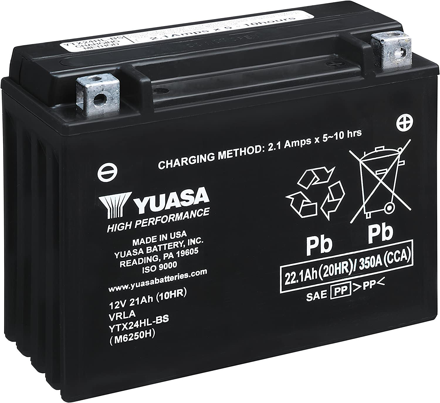 NEW YUASA MAINTENANCE FREE SEALED  BATTERY YTX24HL-BS ARCTIC CAT PROWLER