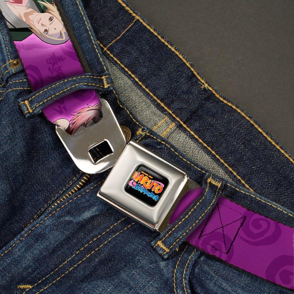 Naruto Tsunade and Sakura Poses Pinks Seatbelt Belt