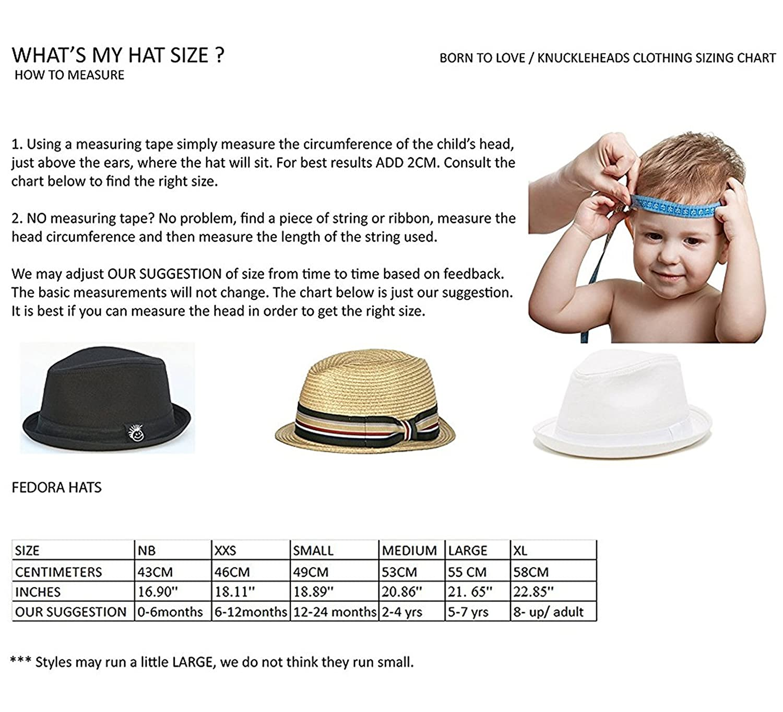 360e9bc6f218d Amazon.com  Born to Love Infant Toddler Boy s Fedora Hat  Clothing