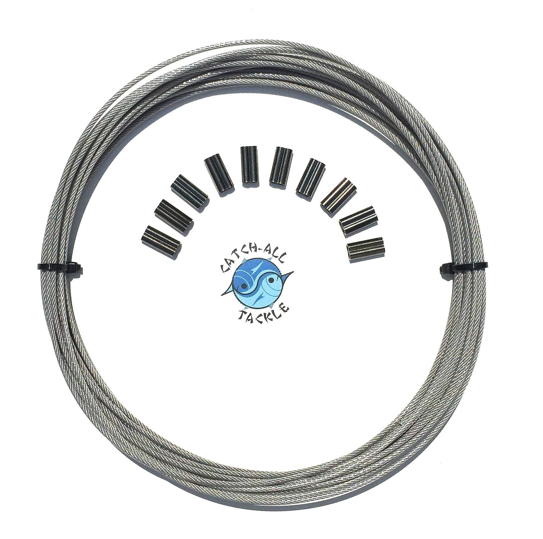 Amazon.com: 49-strand Cable con revestimiento de vinilo 7 x ...