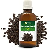 Ambrette Seed Essential Oil (Abelmoschus moschatus) 100% Pure & Natural - Undiluted Uncut Therapeutic Grade - Aromatherapy Oil - 30 ML