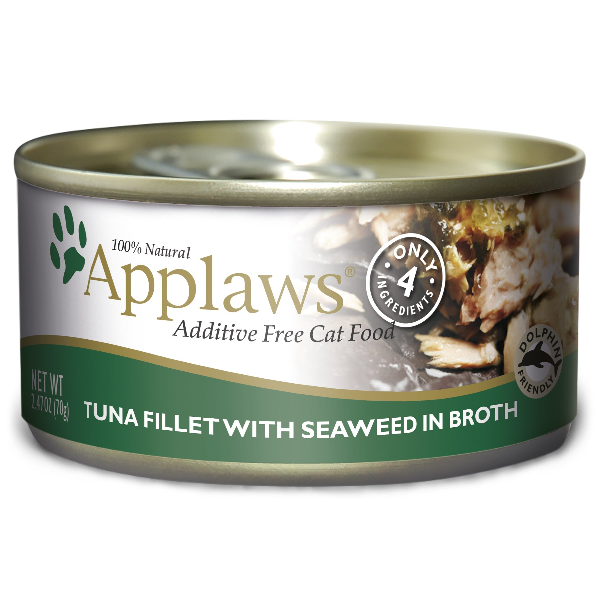 Applaws Tuna Fillet And Seaweed, 24 - 2.47-Ounce Can by Applaws