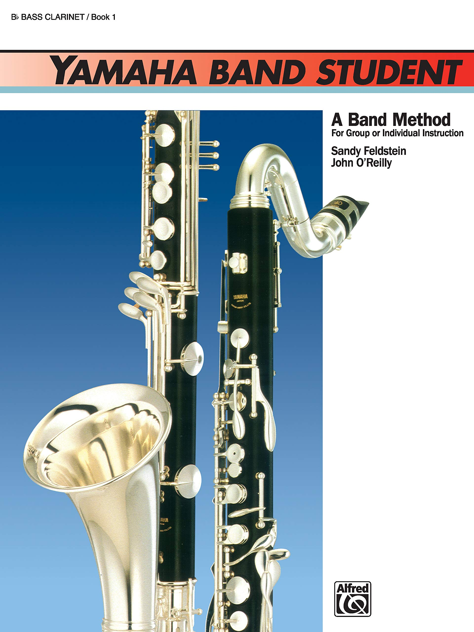 Yamaha Band Student 1 Bass Saxophone Learn Play Bass Saxophone SHEET MUSIC BOOK