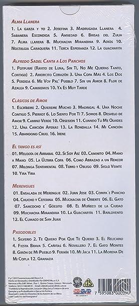 Amazon.com: Alfredo Sadel Box 6 Cds Para Siempre: Music
