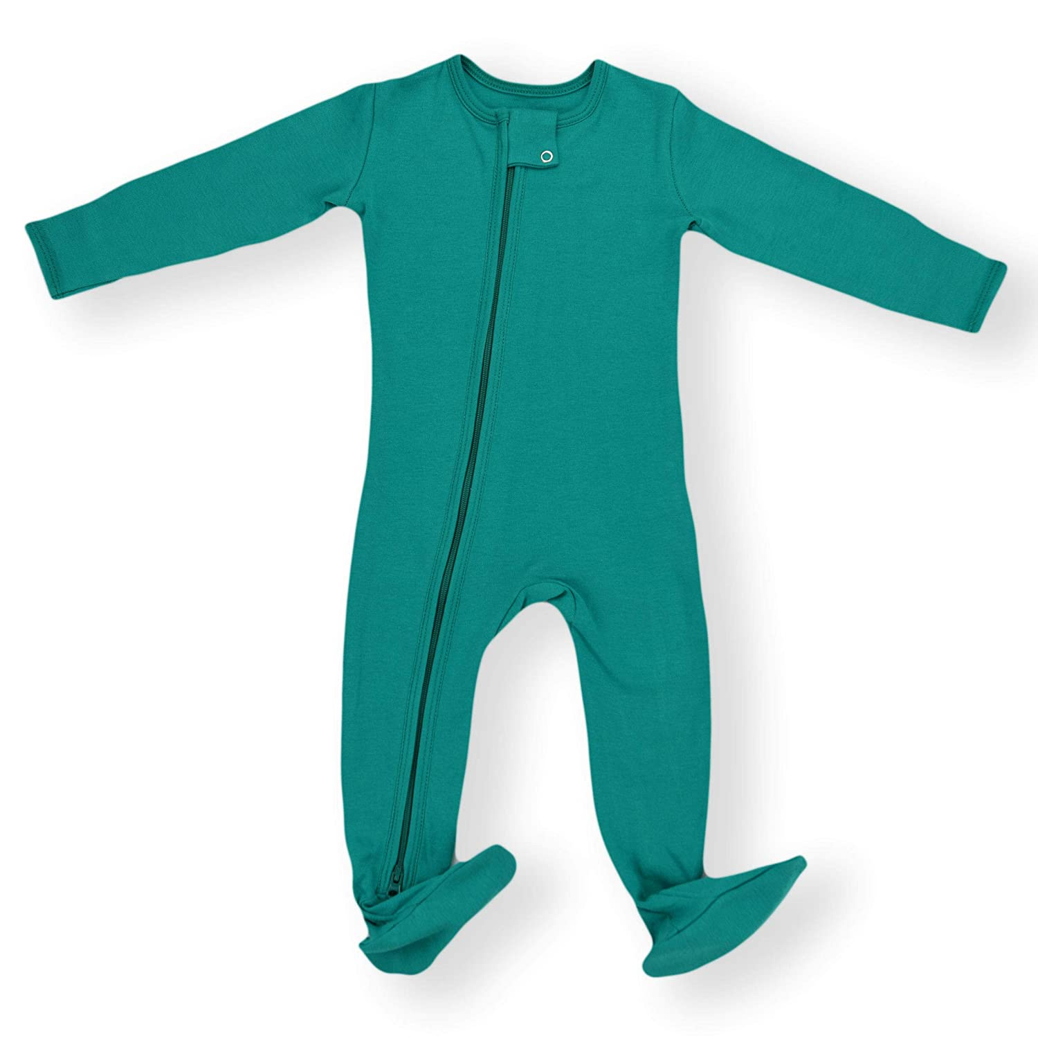Earthy Organic Baby Pajamas 2-Way Zipper Sleeper Boy Girl (9 Sizes: Preemie - 3T) 100% Organic Cotton