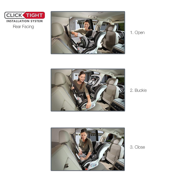 Britax Boulevard ClickTight Convertible Car Seat Trek