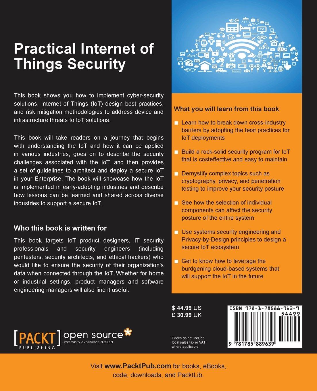Amazon Practical Internet Of Things Security 9781785889639 Brian Russell Drew Van Duren Books
