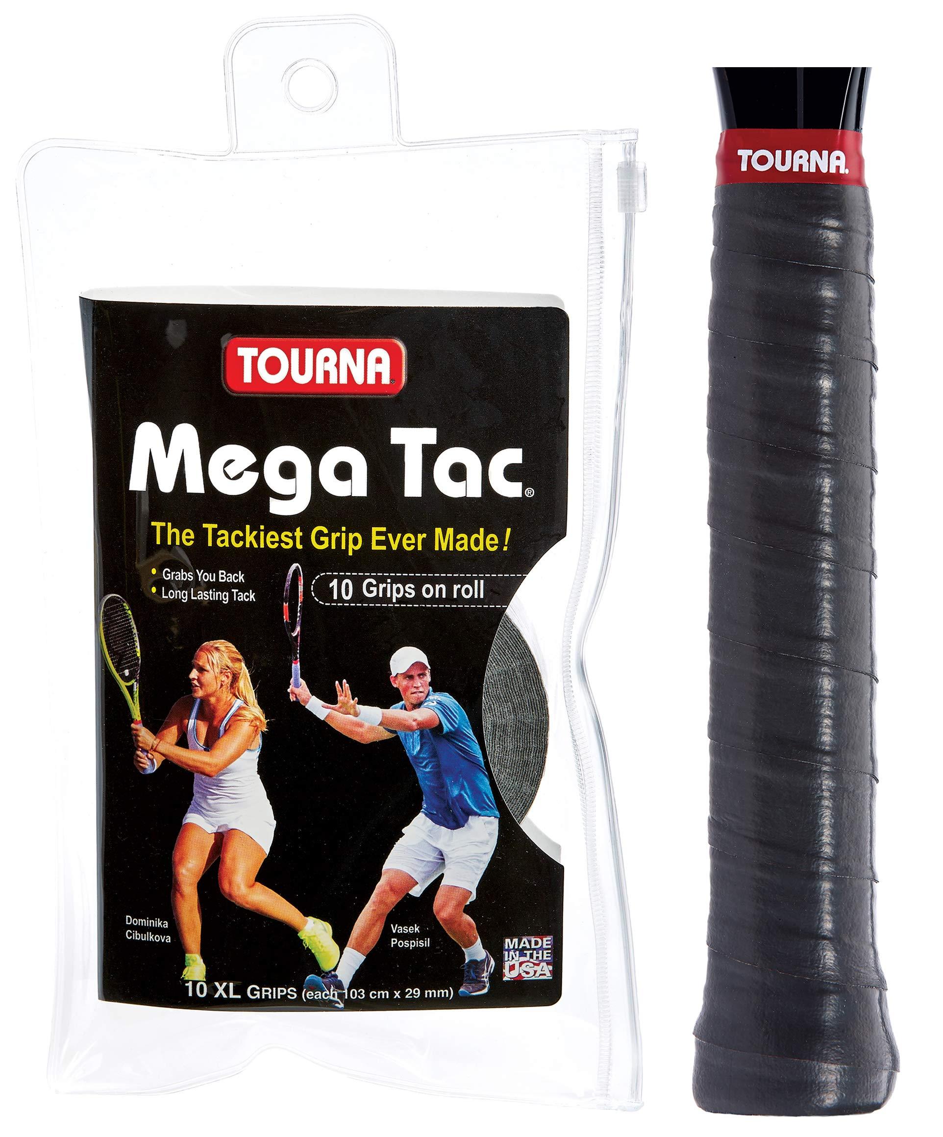 Tourna Mega TAC Grip - Raqueta de Tenis, Unisex Adulto, MT ...