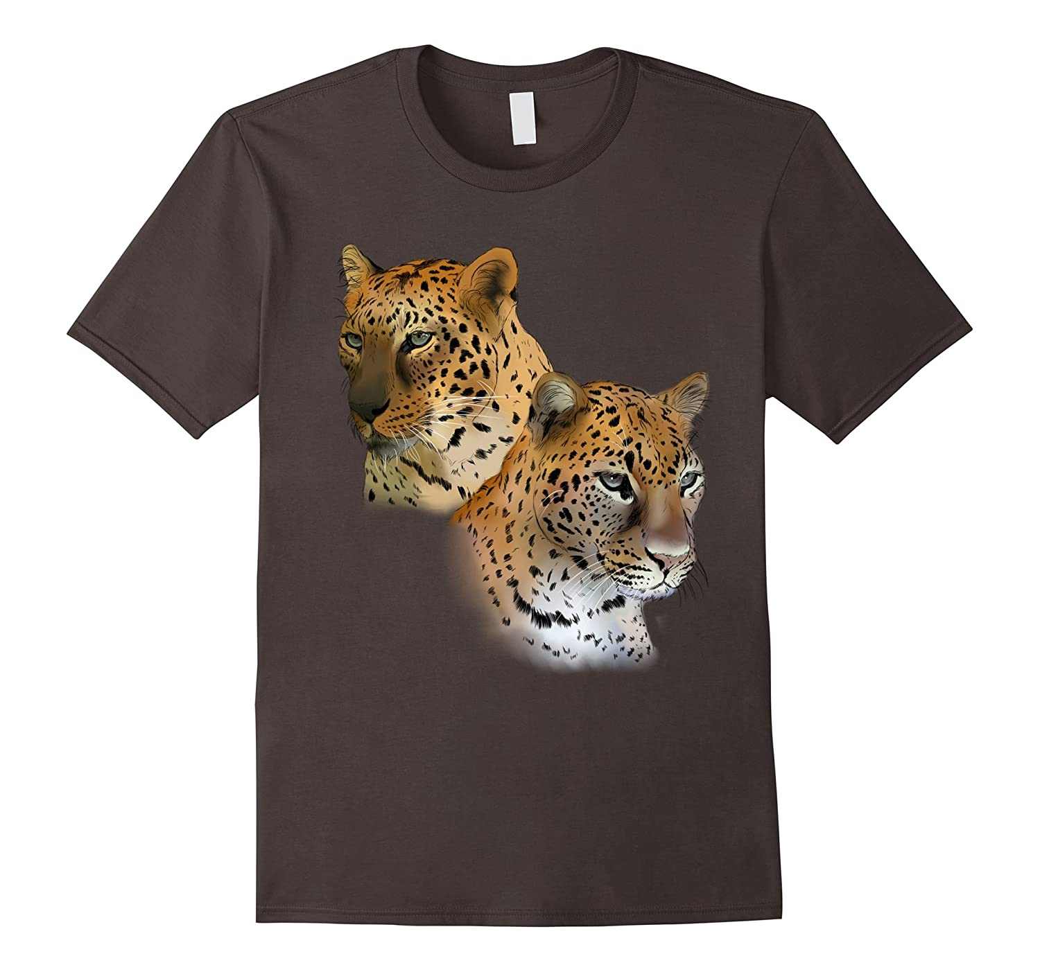 Jade and Armany Leopards Protect Wildlife Tee Shirt-Awarplus