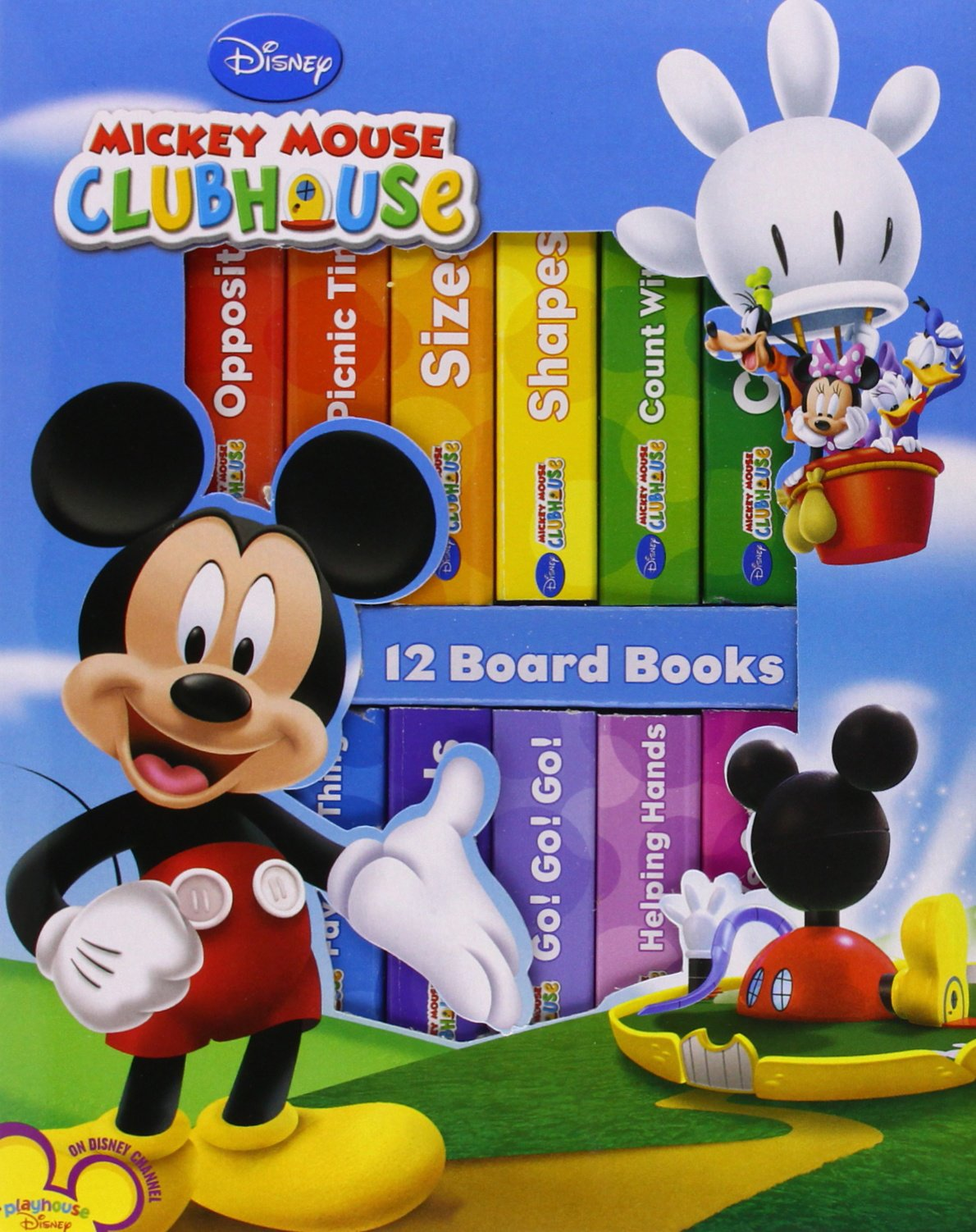 Disney Mickey Clubhouse Deluxe Library