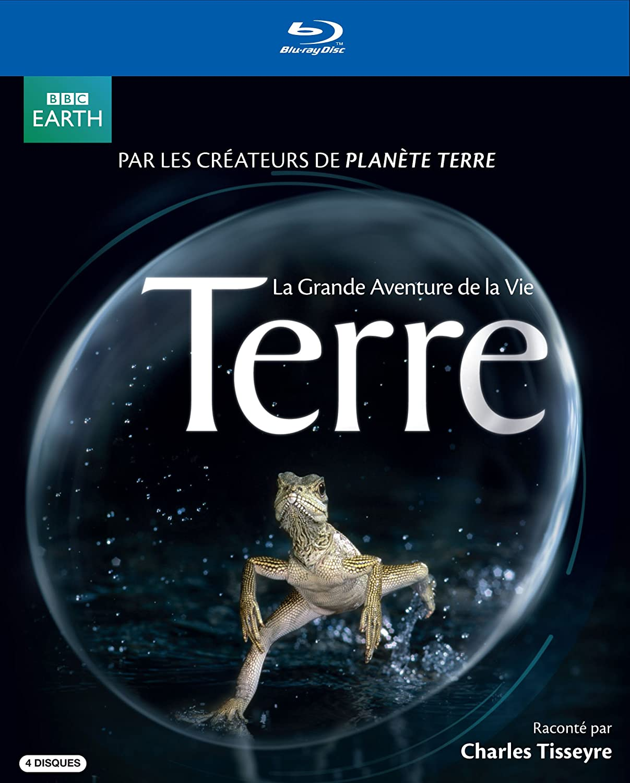 Terre: La Grande Aventure de la Vie [Blu-ray] Charles Tisseyre David Attenborough BBC Home Entertainment 002001008883929154630