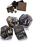 Sex Dice Sex Game for Adult Couples Prime with 34-Position Booklet | Sex Toys & Games for Adults, Beautifully Gift…