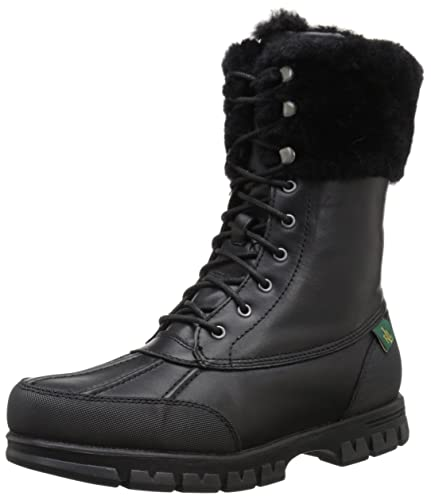 Ralph Lauren Leather Mid-Calf Boots discount codes really cheap buy cheap 100% guaranteed discount with mastercard sale best prices 8XW0G