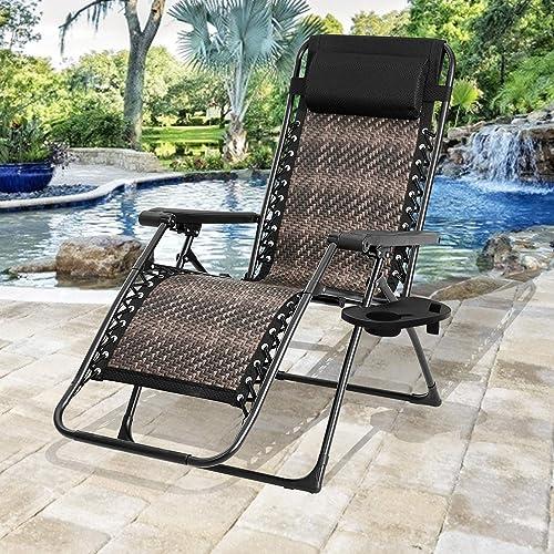 Oakmont Zero Gravity Chairs Patio Set