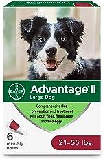 Advantage II Large Dog Flea Treatment, Flea Treatment for Large Dogs