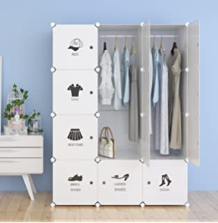 unicoo multi use diy plastic 12 cube organizer toy organizer bookcase storage