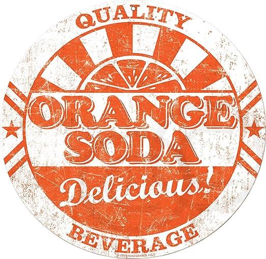 Amazon.com: Signos bebida naranja botella de Soda gorra ...