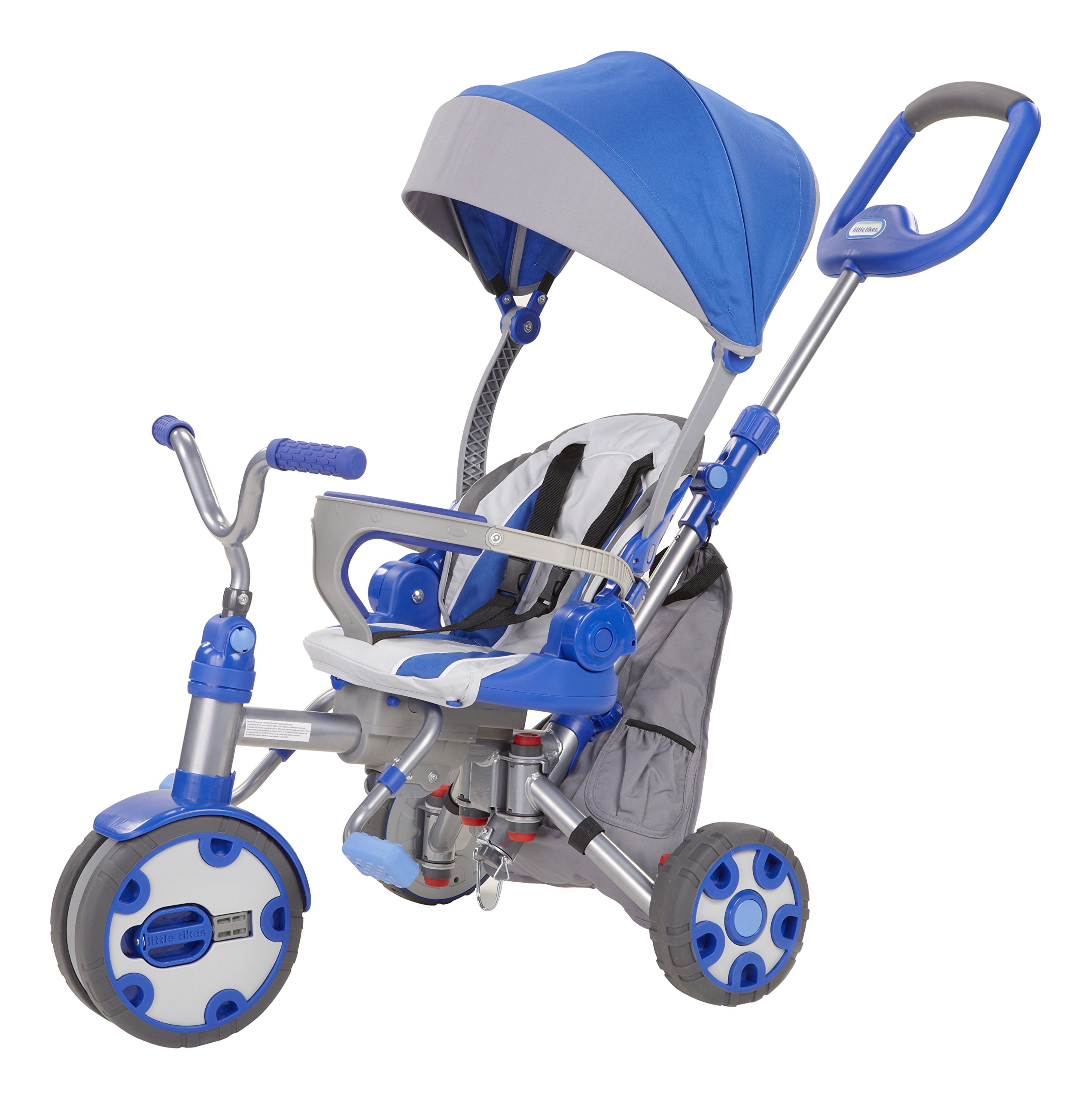 Little Tikes Fold 'N Go 4-in-1 Trike – Blue