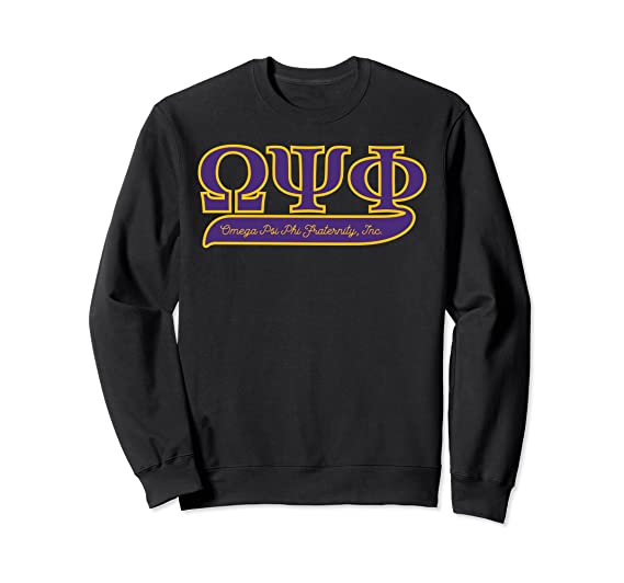Amazoncom Omega Psi Phi Fraternity Inc Sweatshirt Clothing
