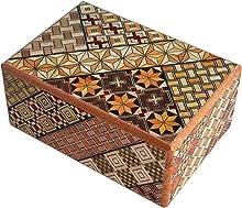 箱根寄木細工 秘密箱7回仕掛け Japanese puzzle box 7steps