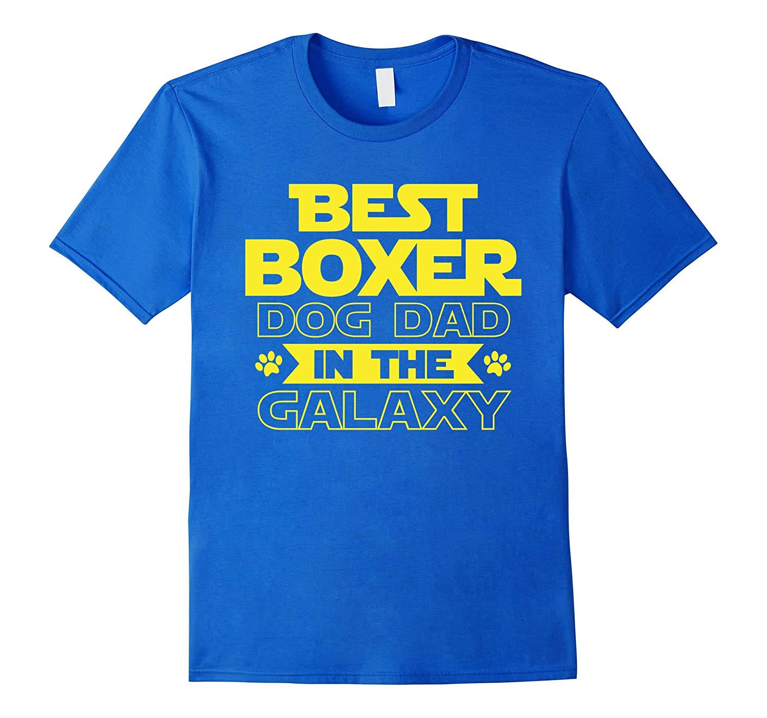 958cb115b Mens Best Boxer Dad in the Galaxy T-Shirt-ah my shirt one gift ...