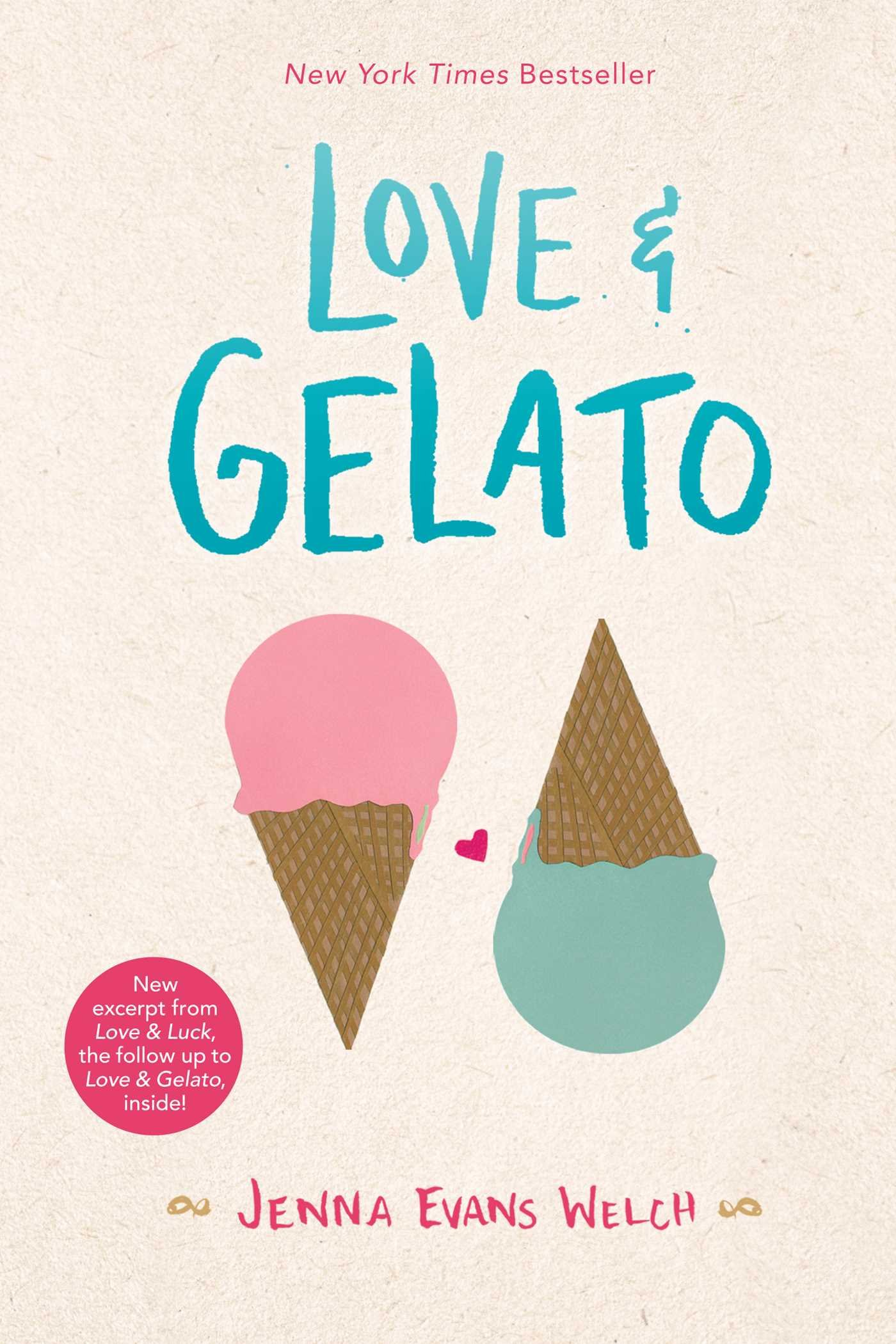 Amazon.com: Love & Gelato (9781481432559): Welch, Jenna Evans: Books