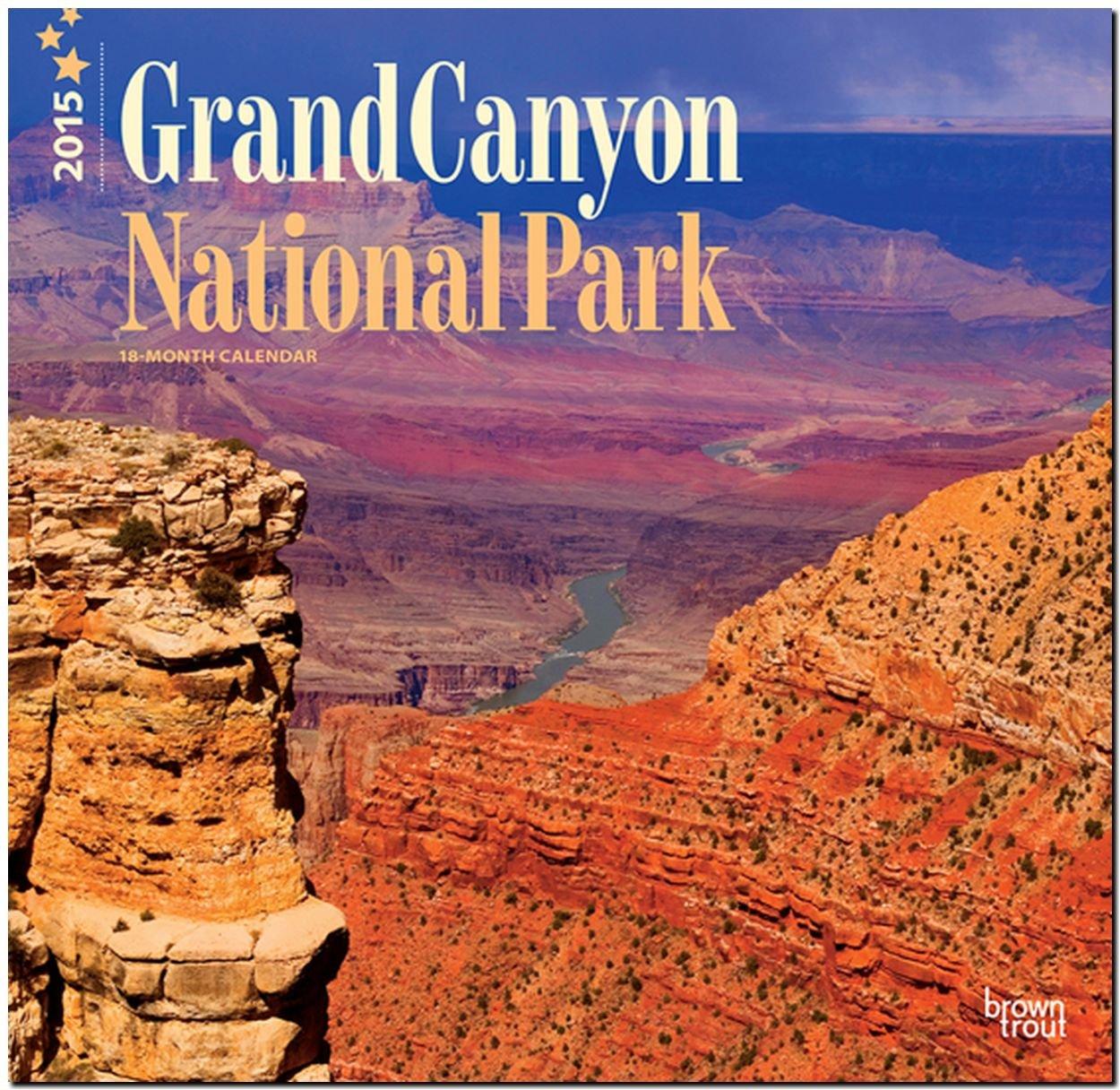 Grand Canyon National Park 2015: Original BrownTrout-Kalender [Mehrsprachig] [Kalender]