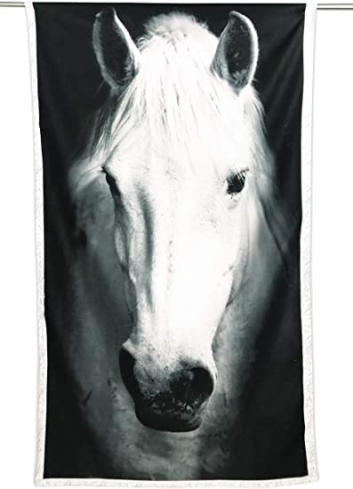 Pferd gro/ß tex family Strandtuch aus Frottee 90 x 170 cm