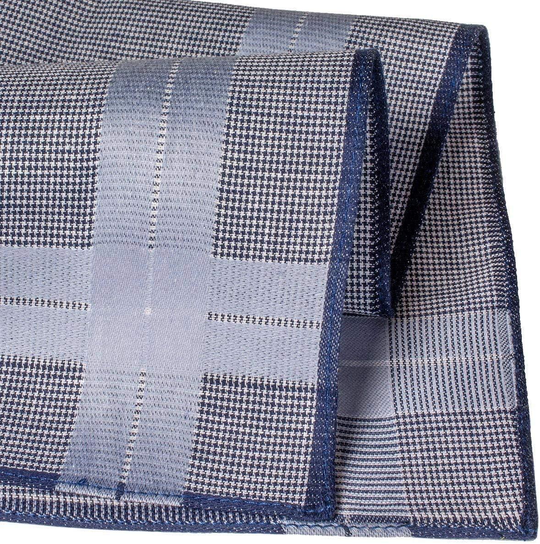 Mod/èle Hamilton Mouchoirs Homme Contemporains Grande Taille 40cm Merrysquare 6 Pi/èces 100/% Coton