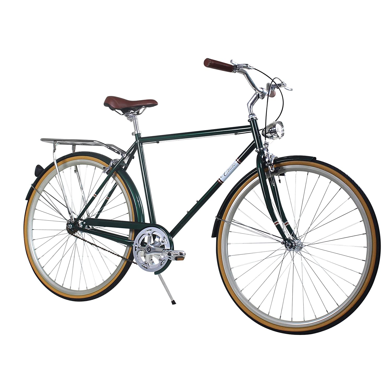 Zycle Fix 50 CMバイク固定ギアメンズCivic Cityシリーズ固定ギア自転車 – フォレスト B01NCX2ORJ