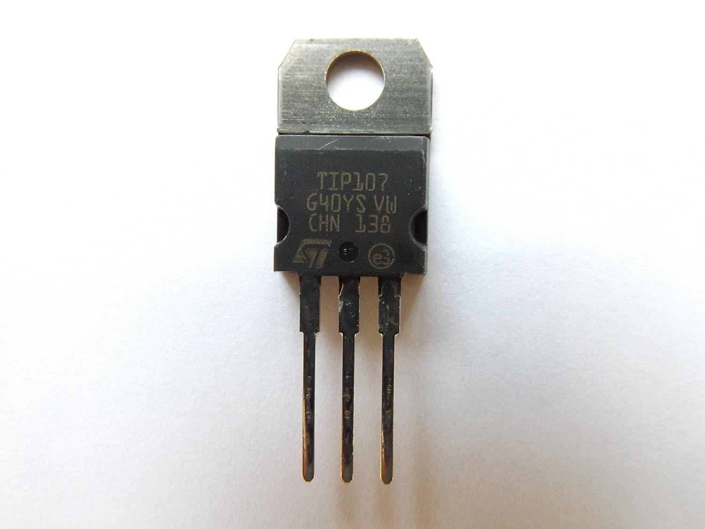 Tip107 Trans Darlington PNP 100V 8A 3-Pin TO-220