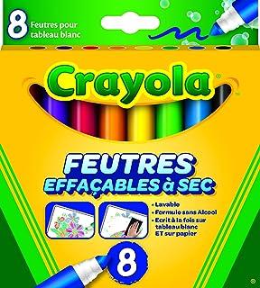Crayola 8223 - 8 Rotuladores Para Pizarra Blanca: Amazon.es ...