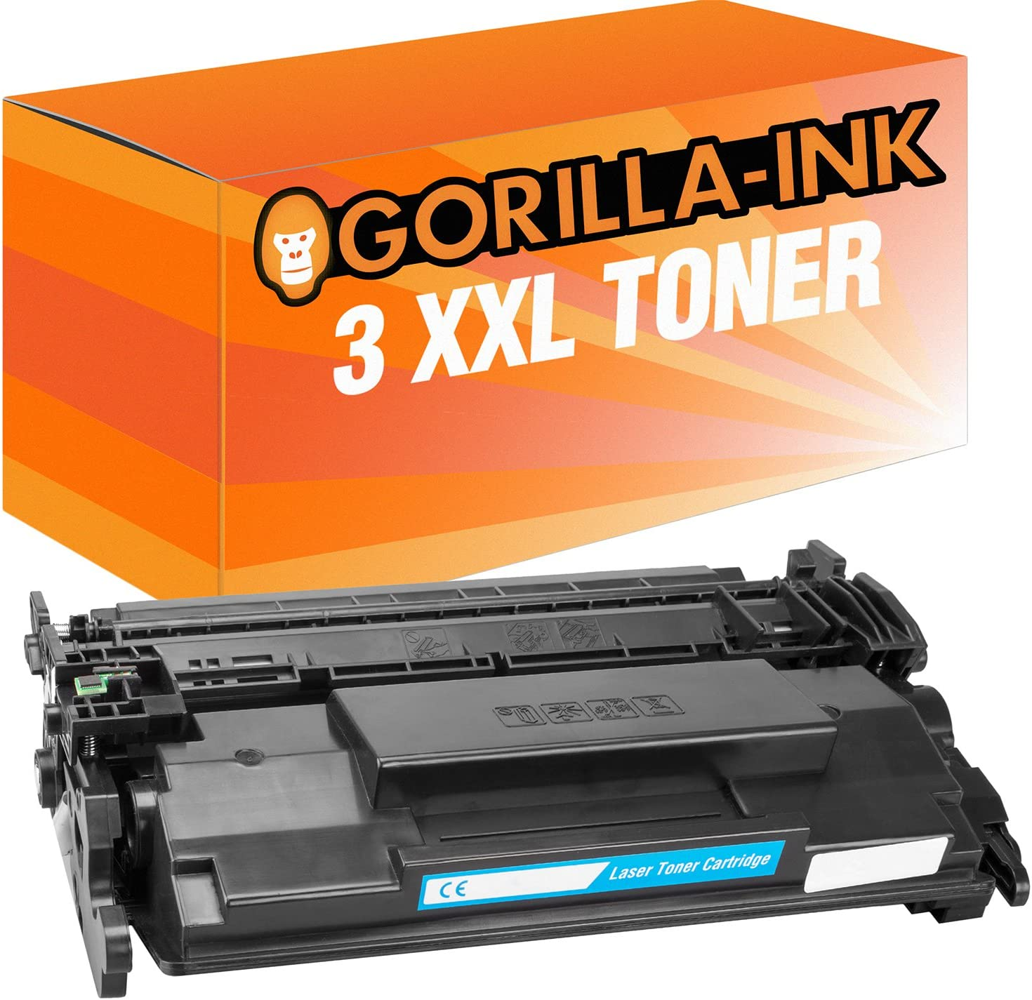 Gorilla de Ink® 3 x Tóner XXL compatible con HP cf226 X LaserJet ...