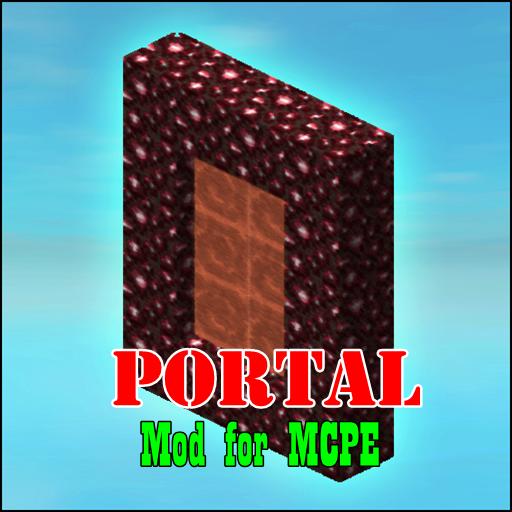Mods : Portal Gun for MCPE
