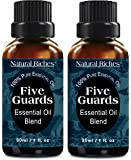 Natural Riches Five Guards Immunity Synergy Blend Health Shield Aromatherapy Essential Oils - Pure Therapeutic Grade…