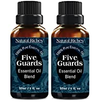 Natural Riches Five Guards Immunity Synergy Blend Health Shield Aromatherapy Essential...
