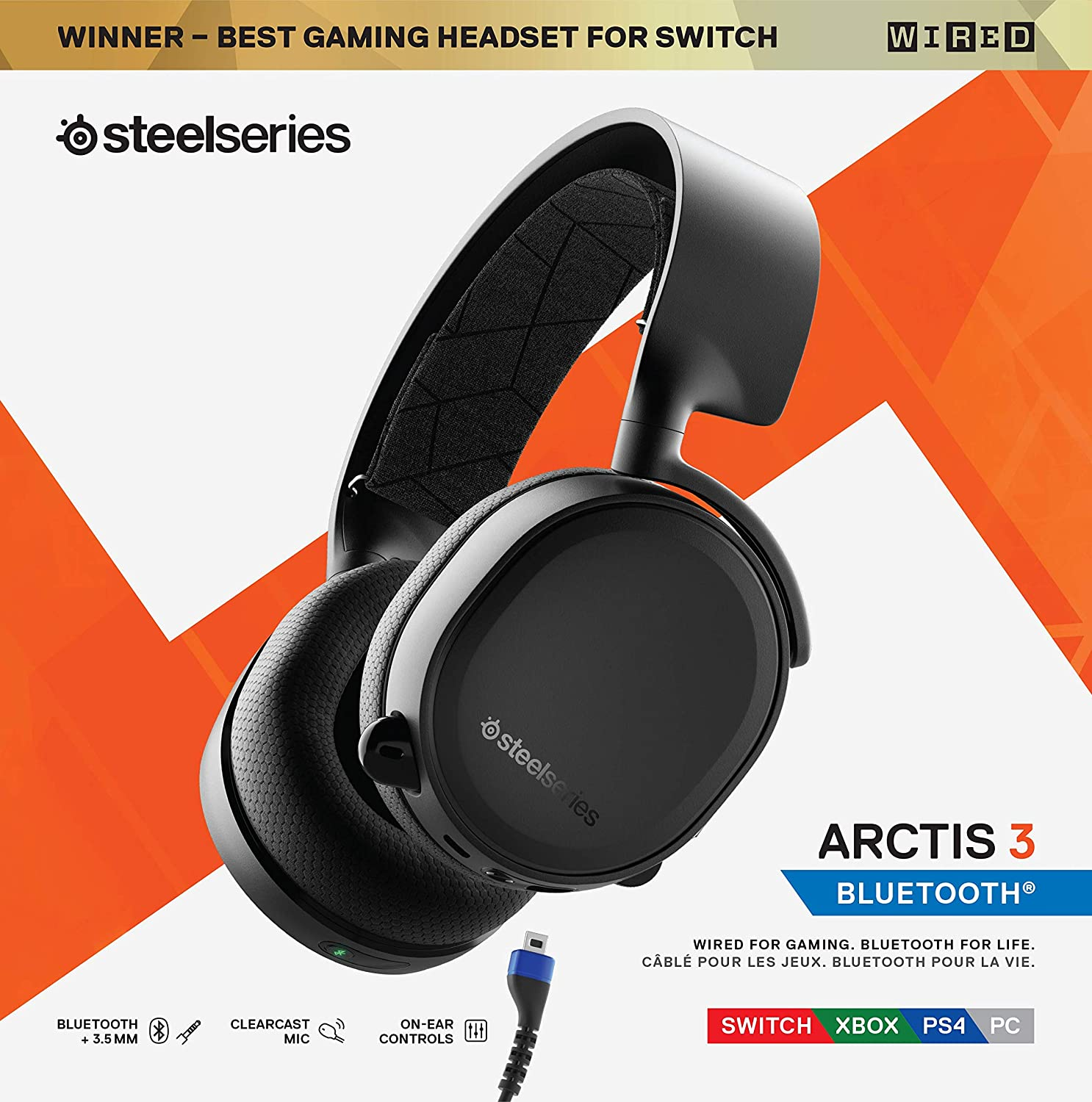 Amazon.com: SteelSeries Arctis 3 - Auriculares para PC ...