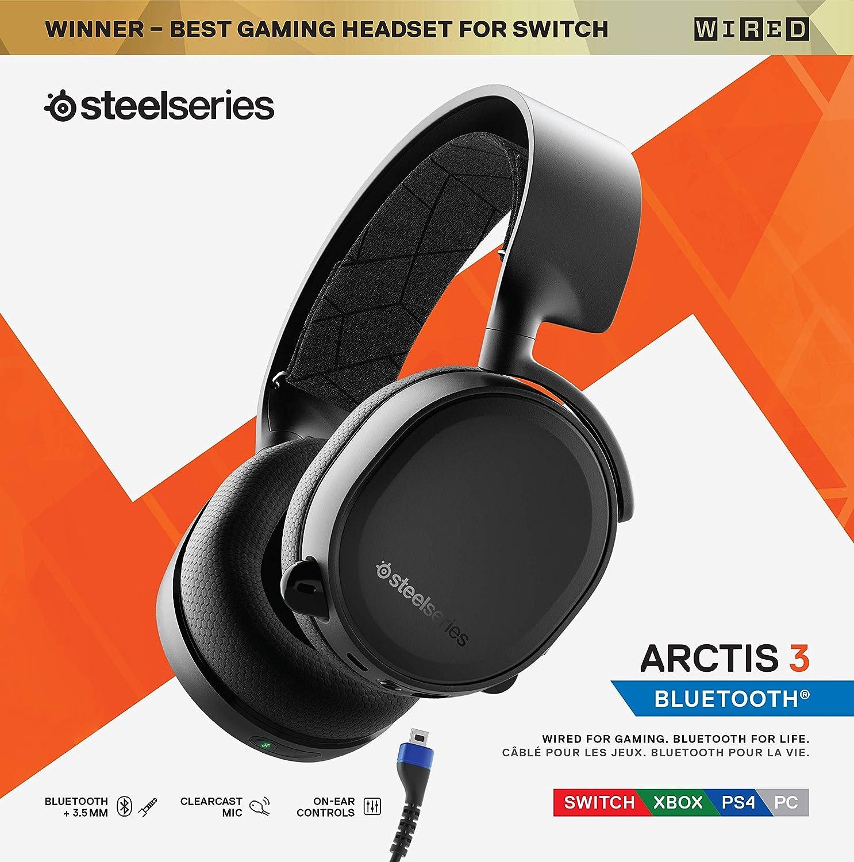 casque steelseries arctis 3 bluetooth