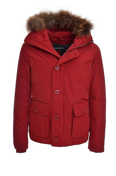 wholesale dealer 4bafc 4e222 Canadian Giubbotto Parka Corto Uomo INTERLAND, Cappuccio e ...
