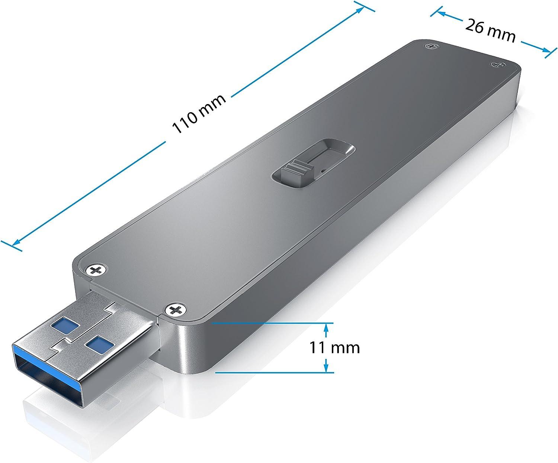 aplic Estuche SSD para Discos Duros M.2 Mecanismo Deslizante ...