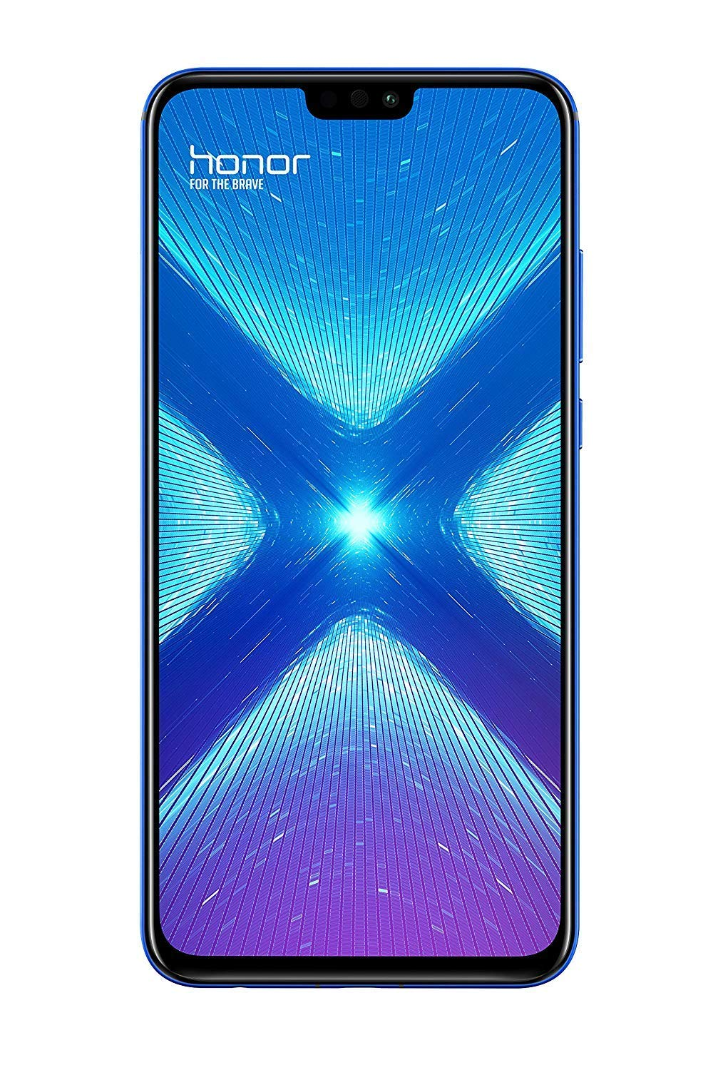 TALLA 128GB. Honor 8X 6.5 SIM Doble 4G 4GB 128GB 3750mAh Azul - Smartphone (16,5 cm (6.5