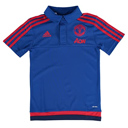 954c0c07b Image Unavailable. Image not available for. Color  adidas 2015-2016 Man Utd  Training Polo Football Soccer ...